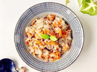 宝宝辅食:省力又好吃的橙色能量饭,开动吧