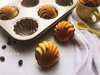 淡奶油蜜豆玛德琳,健康美味。