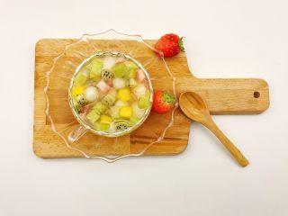 宝宝辅食:水果小圆子-36M ,漂亮健康有好吃