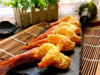酥皮大虾,成品1