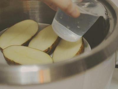 培根起司马铃薯,外锅一杯水  跳起闷15分钟