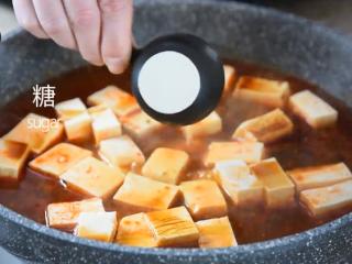 麻婆豆腐——美味诀窍大揭秘!,撒入盐、糖、生抽