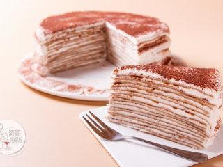 提拉米苏千层蛋糕 - 视频教程