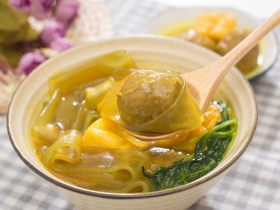 咖喱牛丸粉汤-好吃不将就的快手菜!