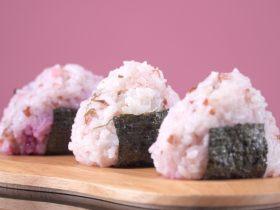 自制高颜值樱花饭团,剩米饭也能有春天