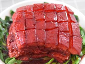 苏州樱桃肉,酥烂入味,色香味俱佳!