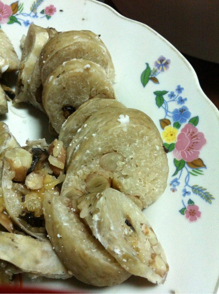猪肠胀糯米