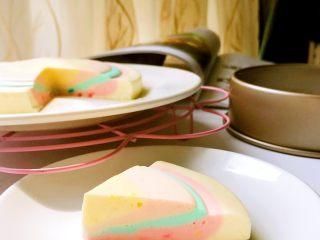 彩虹慕斯蛋糕,成品5