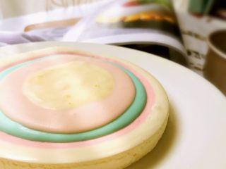 彩虹慕斯蛋糕,成品6
