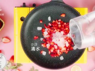 自制草莓酱,把春天的味道封存起来~,少许清水
