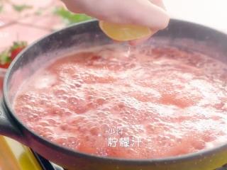自制草莓酱,把春天的味道封存起来~,挤少许柠檬汁