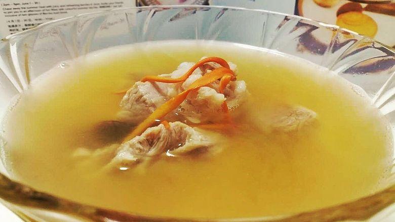 黑松露海螺排骨汤
