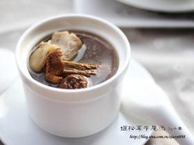 姬松茸牛尾汤