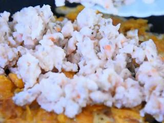 没有螃蟹的赛螃蟹,孙红雷最爱吃的菜!,清炒至出油脂倒入蛋白