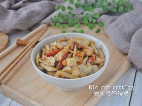 金甜笋炒肉