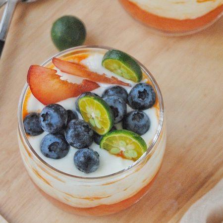 木瓜酸奶杯