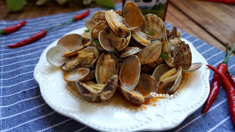 辣炒花蛤:让舌头欲罢不能的美味儿