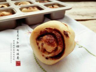 葡萄干红糖肉桂卷