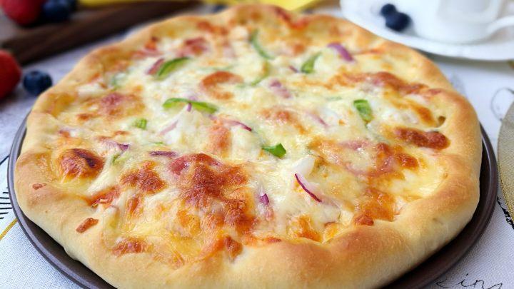 墨鱼热狗芝心披萨