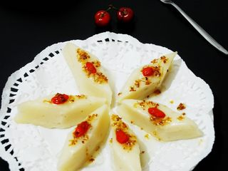 最适合夏天吃的清清凉凉的糯米凉糕,成品