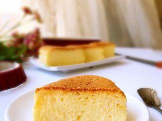 轻乳酪蛋糕,成品1