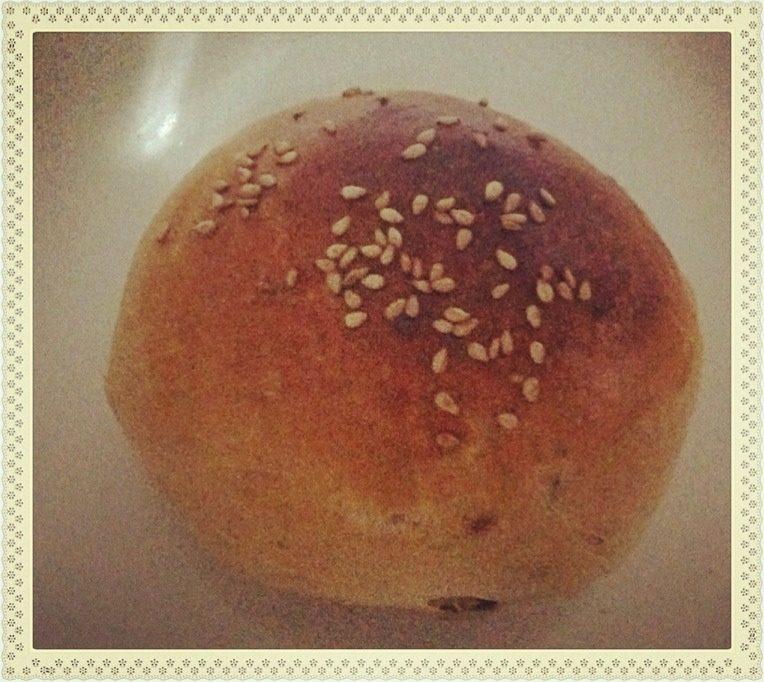 自制夹心圆面包