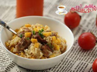 排骨红薯米饭