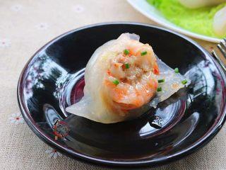 晶莹剔透又鲜又爽的水晶虾饺