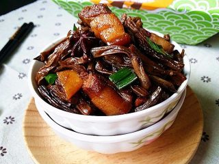 幹豆角烧肉