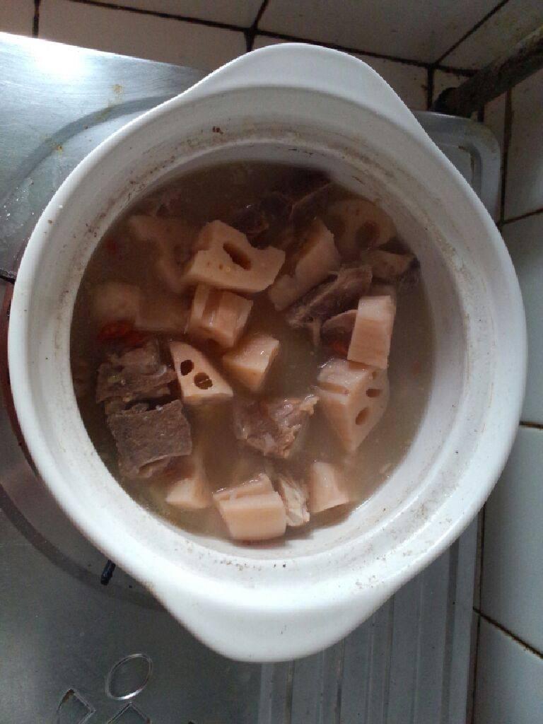 腔骨莲藕汤