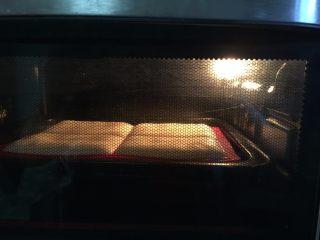 原味华夫饼,这是烤了10分钟的样子