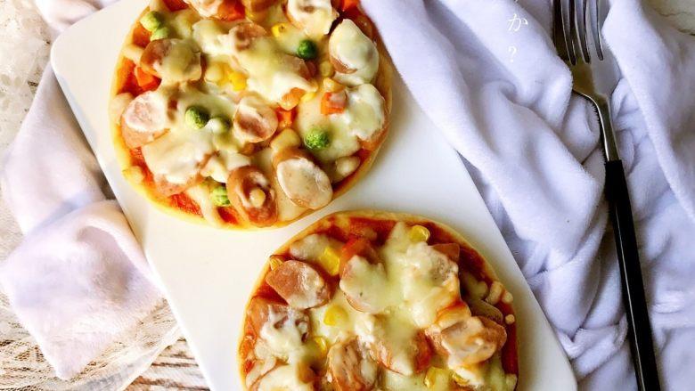 迷你香肠披萨,成品3