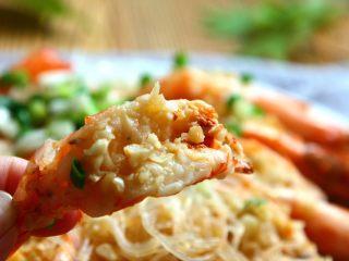 蒜蓉粉丝蒸大虾,鲜美多汁