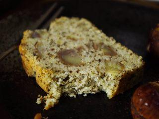 超好吃的红茶栗子磅蛋糕,吼吼次的~