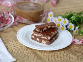 巧克力牛轧糖(耐烤巧克力版)