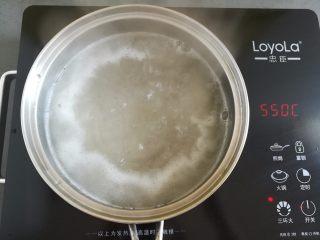 水果果冻(白凉粉版),继续大火煮开凉粉2分钟