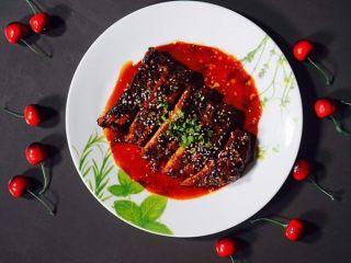 韩式甜辣吮指猪肋排