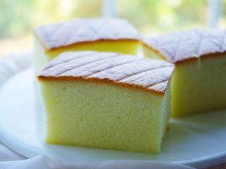 日式棉花蛋糕,成品图