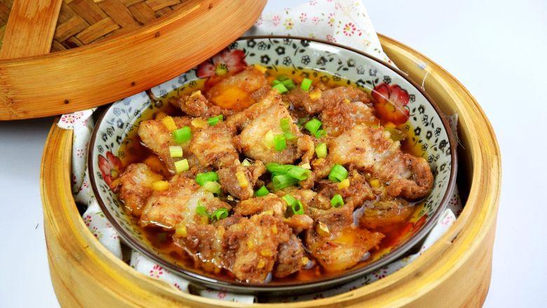 虾酱蒸五花肉