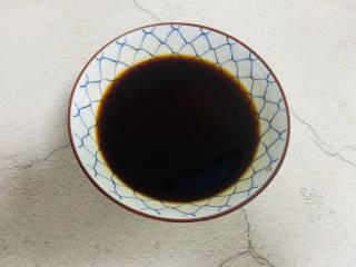 糖醋鸡蛋,加入小半碗清水搅拌均匀备用