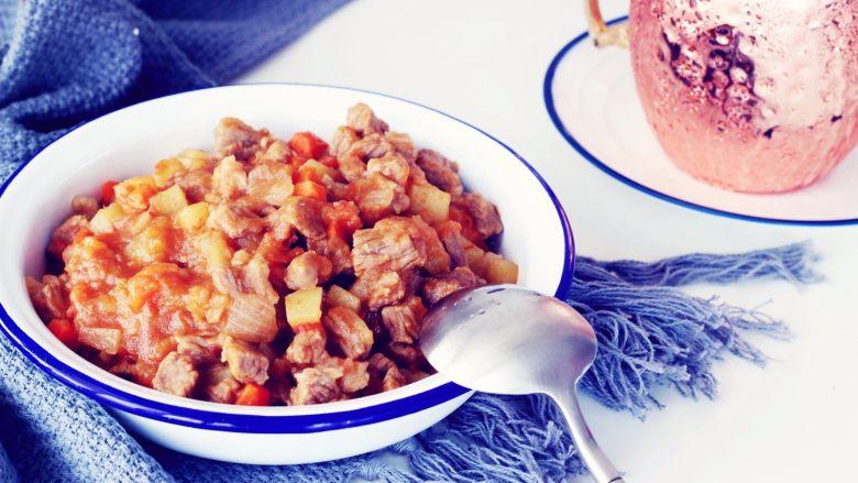 西红柿土豆炖牛肉,细节图