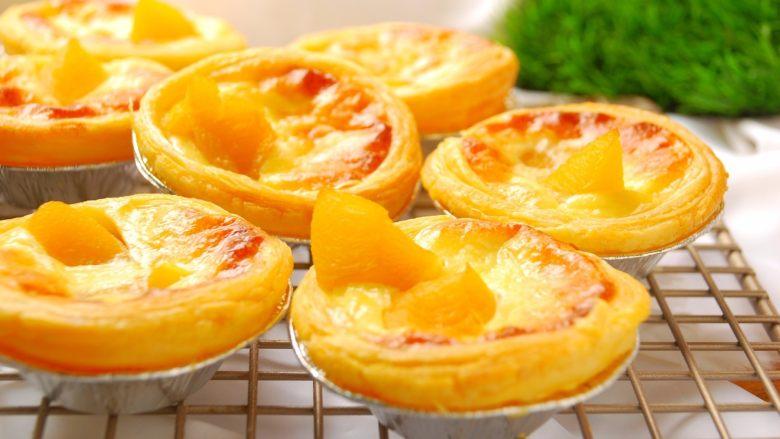 烘焙小白零失败的——黄桃蛋挞