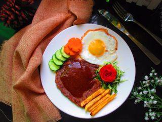 黑胡椒牛排,自制简单西餐