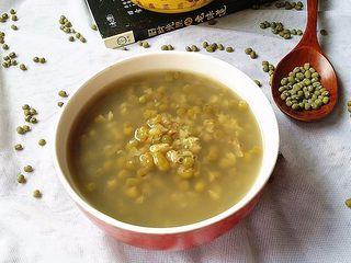 绿豆汤,成品图