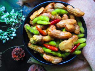 五香花生煮毛豆,下午茶点,深夜酒桌,必备佳品