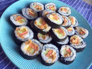 超简单寿司做法