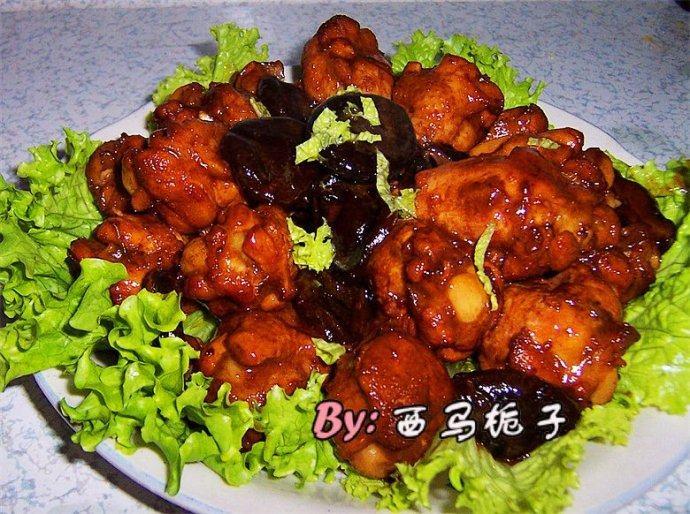 蚝油香菇鸡翅根