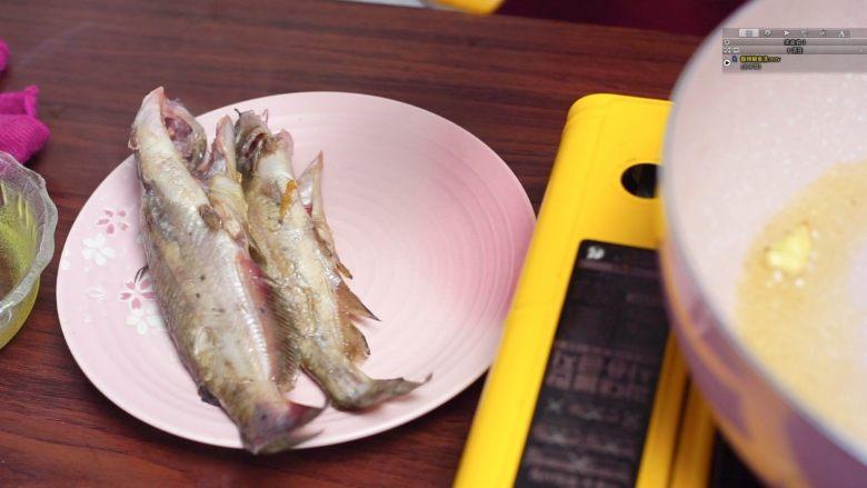 开胃黄金汤—金汤鮰鱼,盛出备用