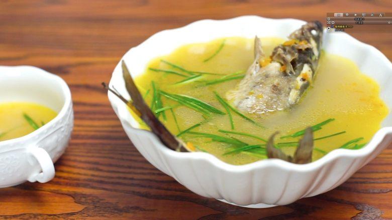 开胃黄金汤—金汤鮰鱼,一碗超级开胃的酸辣金汤就做好啦