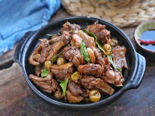 山黄皮焖水鸭,喜欢辣的可以加辣椒